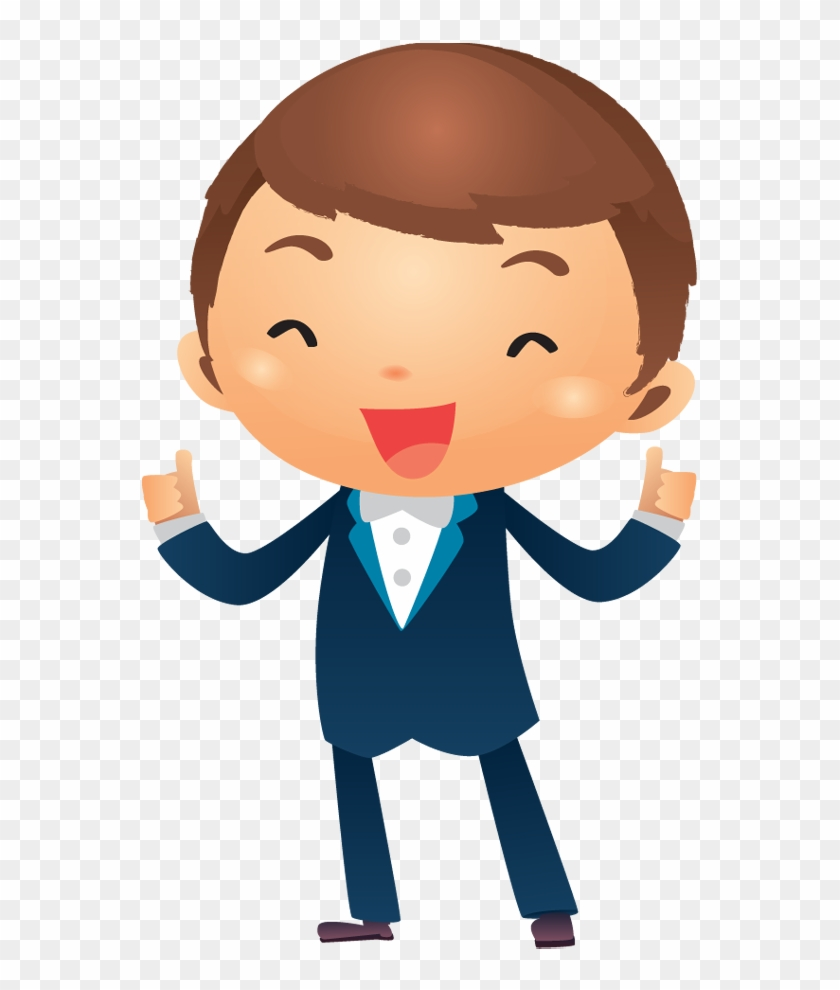 success clipart successful boy businessman thumbs up cartoon free transparent png clipart images download success clipart successful boy