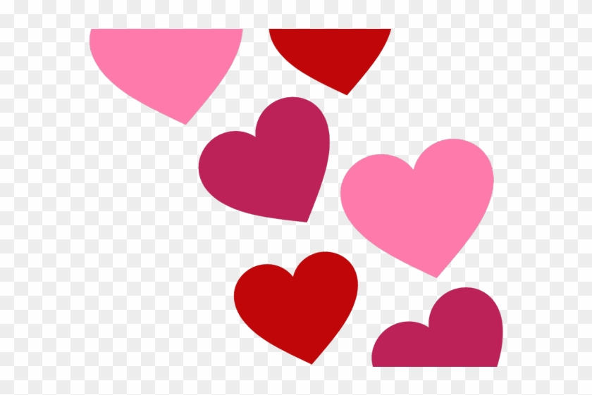 Heart Clipart Clipart Multiple Heart Free Valentines Day Clipart