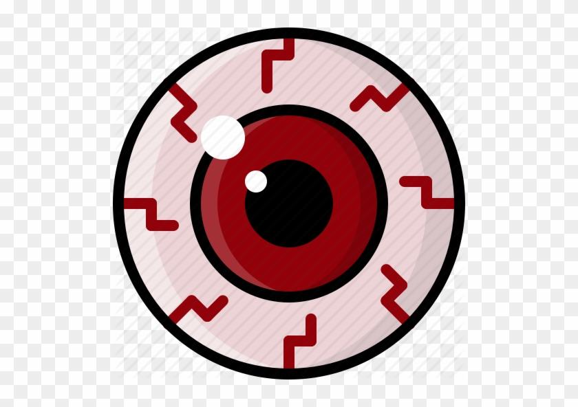 Pink Eyes Clipart Bloodshot Eye - Red Eyes Icon Png #461418