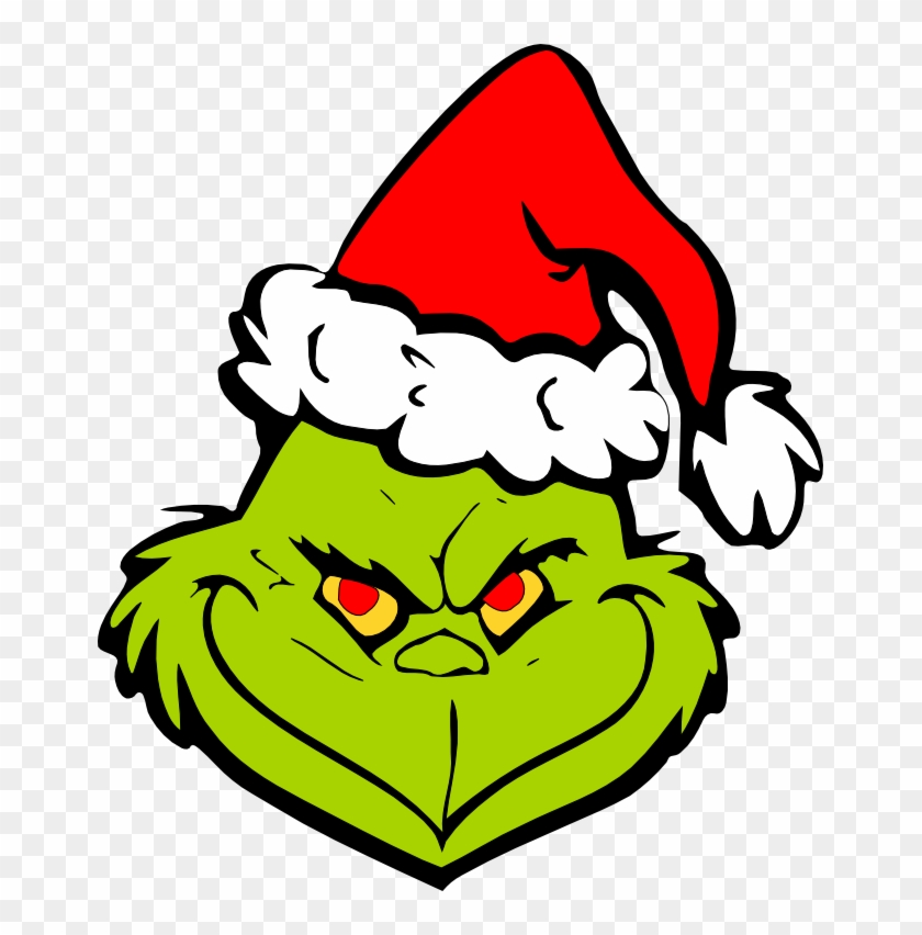Movies, Personal Use, Grinch In Santa Hat, - Grinch With Christmas Hat #461451