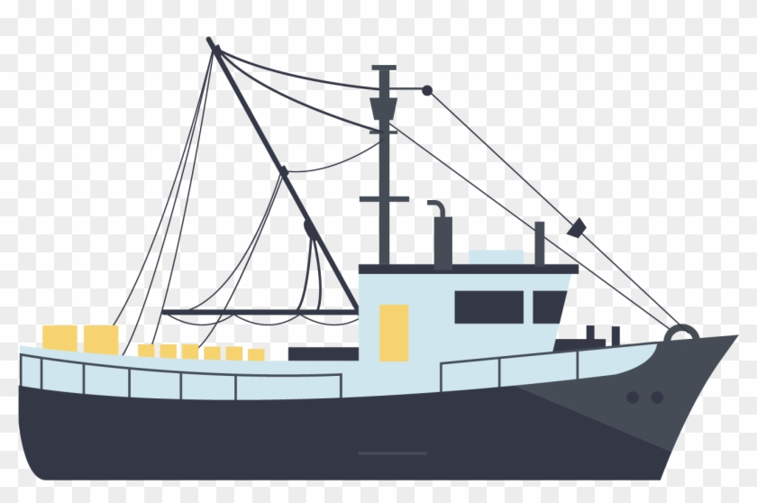 扁平化轮船 - Cargo Ship #461551