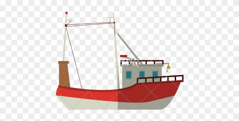 Fishing Boat Isometric 3d Icon On A White Background Icon Free Transparent Png Clipart Images Download