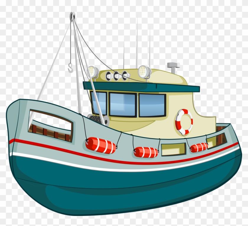 Fishing Vessel Royalty-free Boat Clip Art - Fishing Vessel Royalty-free Boat Clip Art #461628