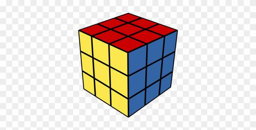 Connecting Cubes Clipart - Rubix Cube Clipart #462316