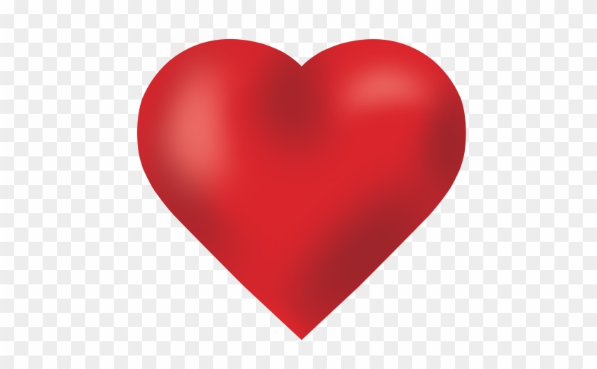Love Heart Png Image - Big Red Heart #462487