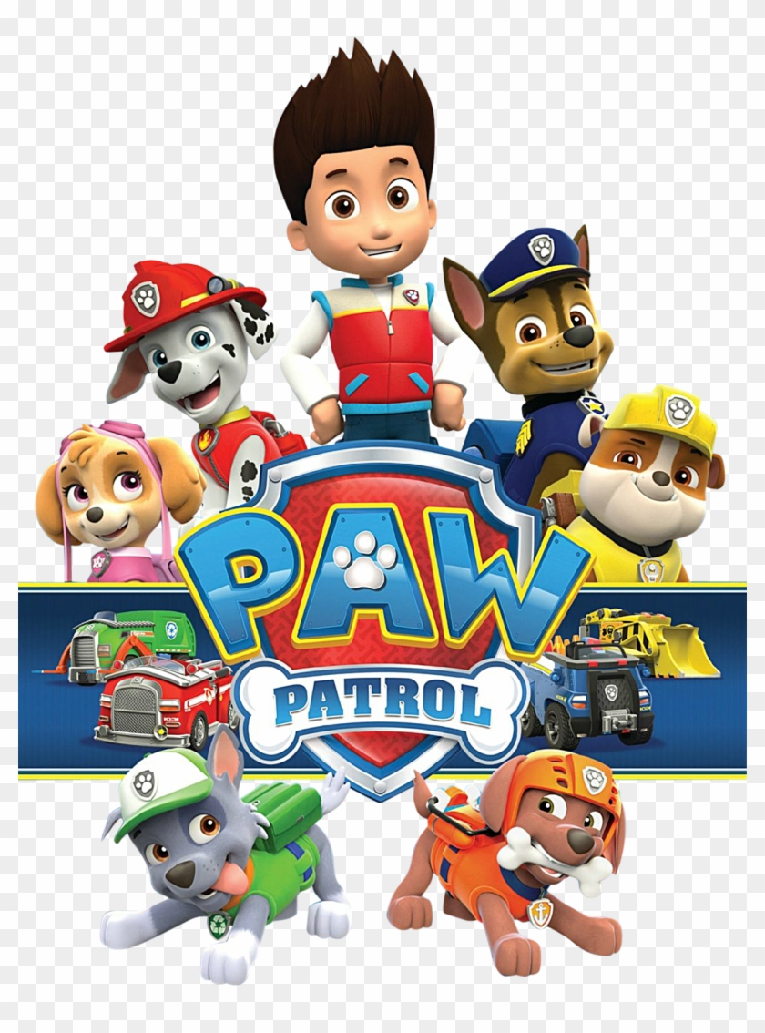 Paper Crafts Cool Paw Patrol Free 28 Clipart Clipground Paw Patrol