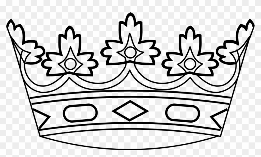 King, Crown, Royalty, Royal, Queen, Kingdom, Prince - Crown Clip Art #463635