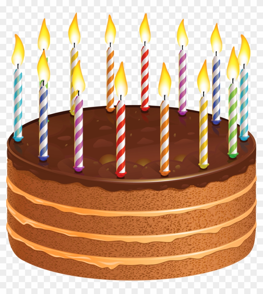 Happy Birthday Wishes Greetings Clipart Cake With Candles Cake