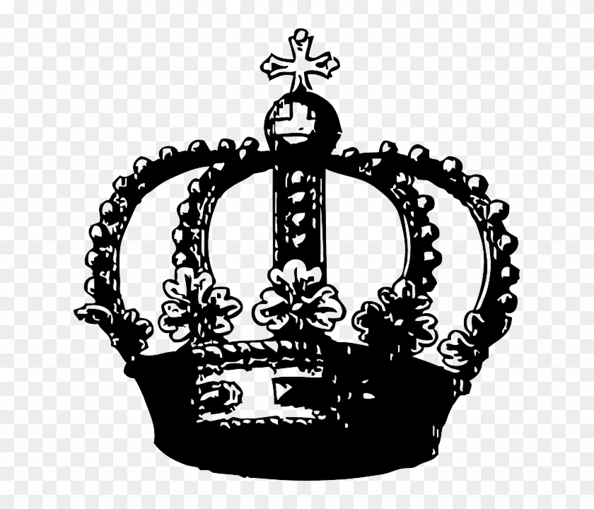 Great Britain Crown Royal King Queen Kingdom Great Black And