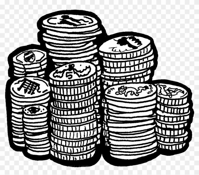 Картинки денег схематично