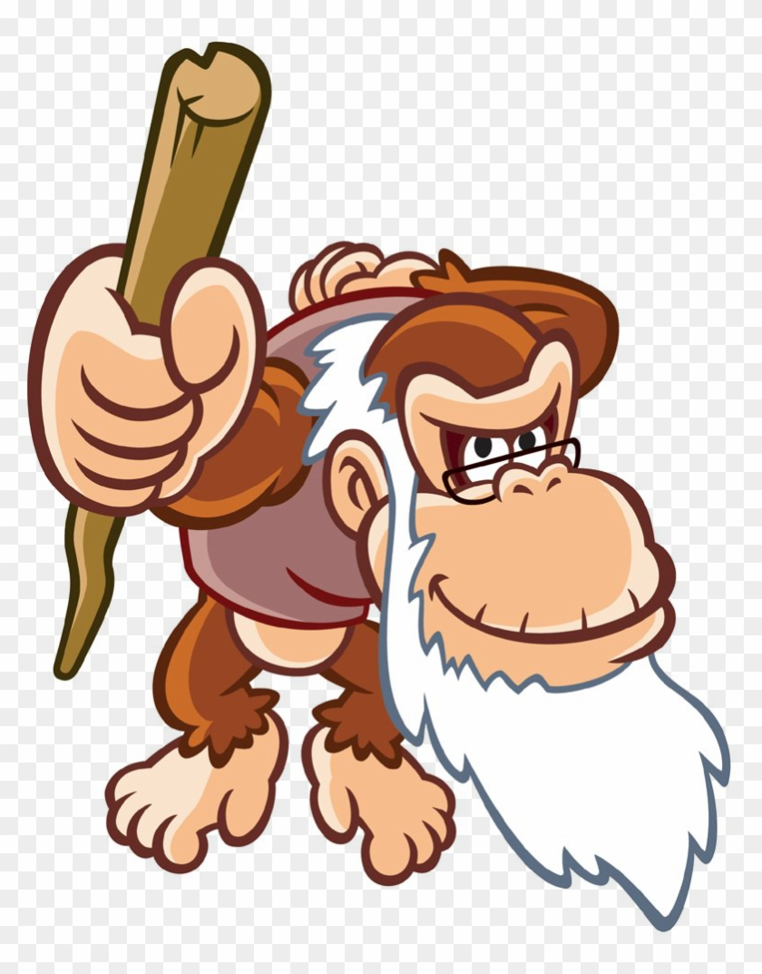 Cartoon Free Vector Download 15211 Free Vector For,free - Don King Kong Abuelo #463742
