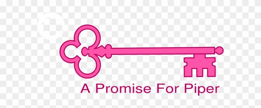 Door Key For Pink Clipart - Skeleton Keys Vectors #463974