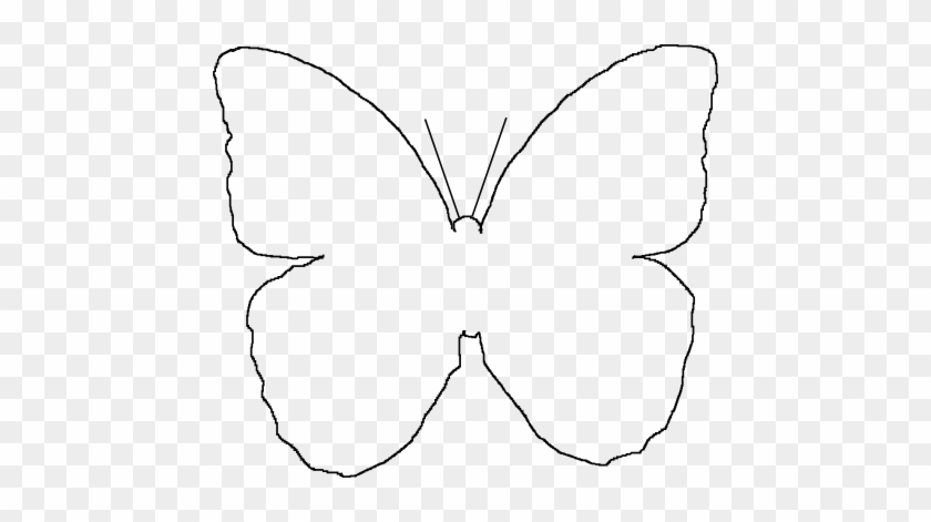 Butterfly Outline Printable Free Coloring Pages On - Butterfly Wing Template Printable #464337