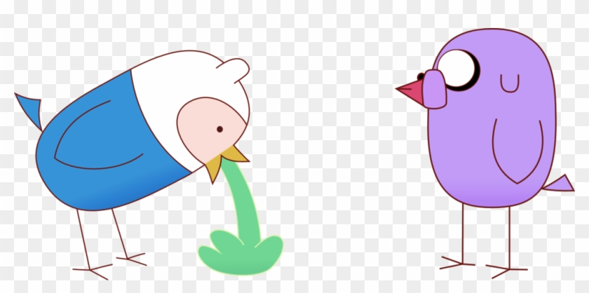 Finn And Jake Bird Vomit By Rockint765 - Jake And Finn Adventure Time Birds #464410