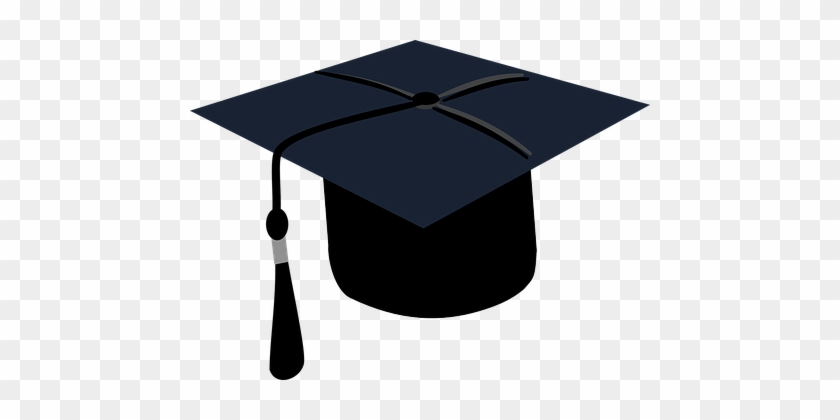 Graduation Black Cap Education College Ach - Graduation Cap Green Tassel #464439