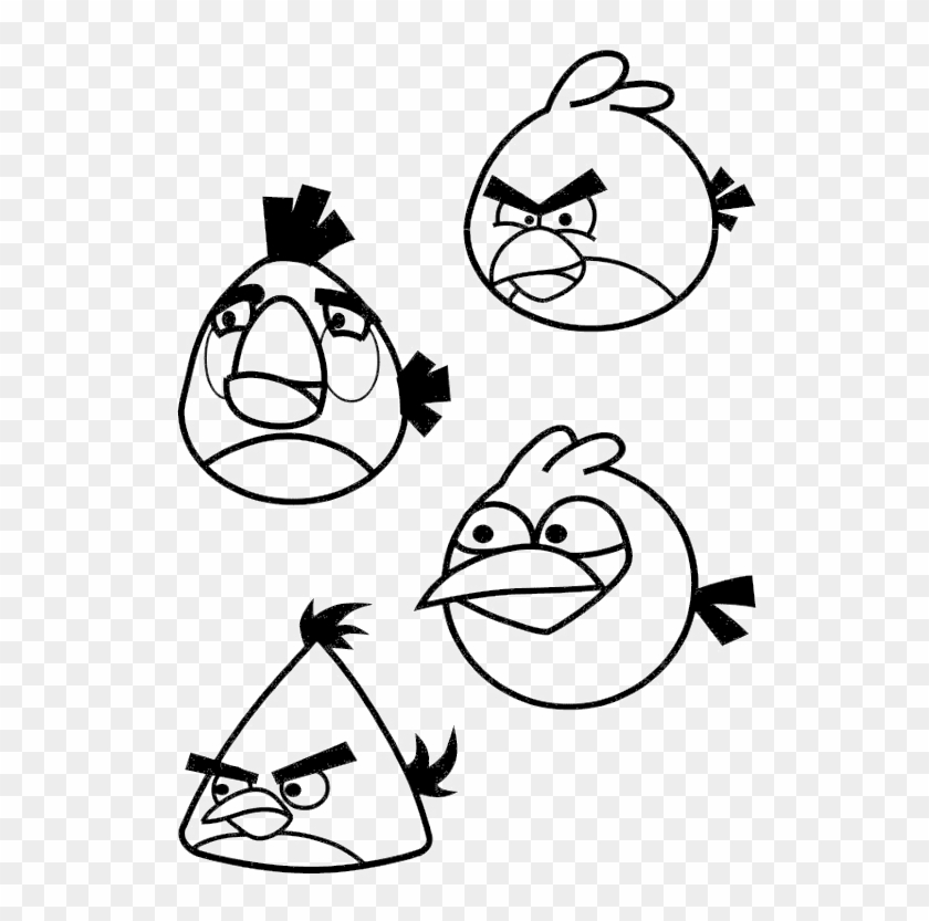 Angry Birds Stella Coloring Pages - Coloring Home | 833x840
