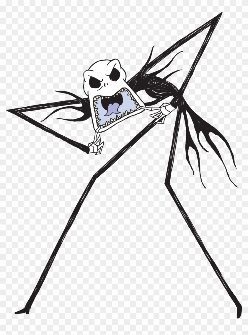 Jack Nightmare Before Christmas Characters - Free Transparent PNG ...