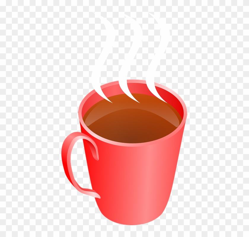 Hot Drink Cliparts - Cartoon Cup Of Tea #465343