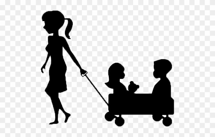 babysitting clipart black and white nanny logo 465538