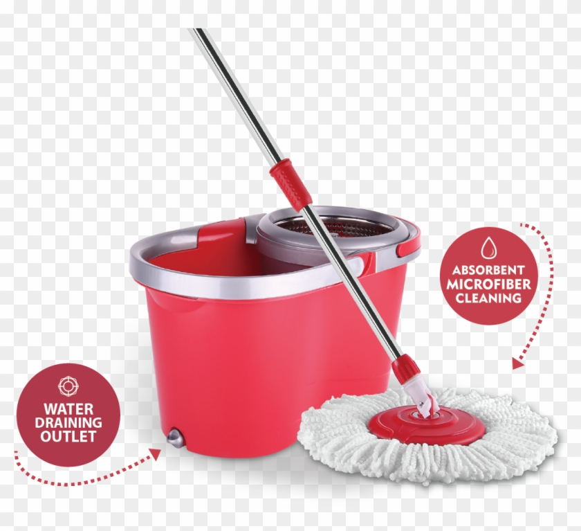 Click To Enlarge - Mount It Spin Mop And Bucket System #466259