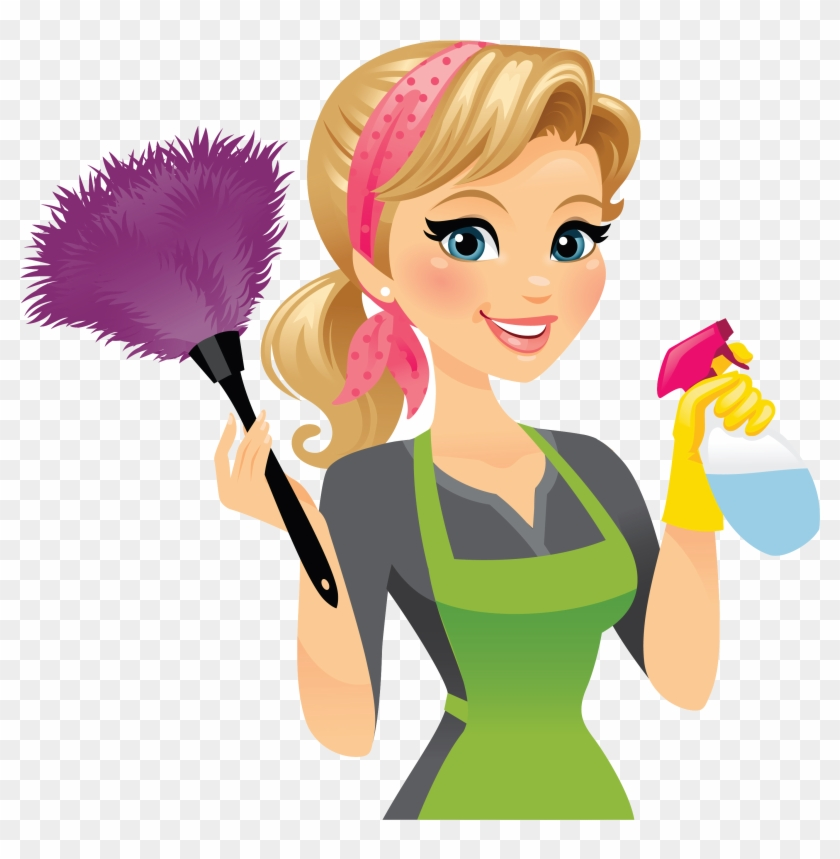 cleaner maid service cleaning clip art cleaner lady free