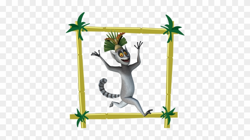 King Julien From Penguin Of Madagascar Tv Series - Lemur In Madagascar Movie #467556