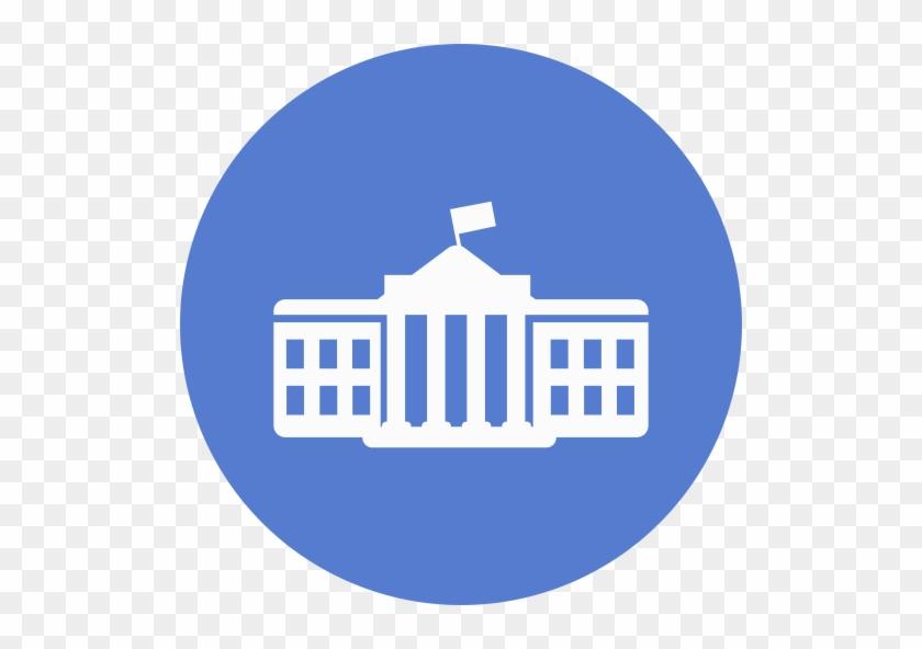 Pixel - White House Logo Circle #467564