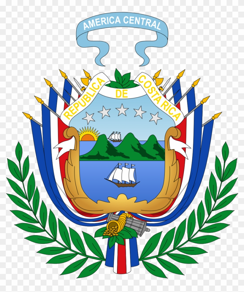 Coat Of Arms Of Costa Rica - Service-disabled Veteran-owned