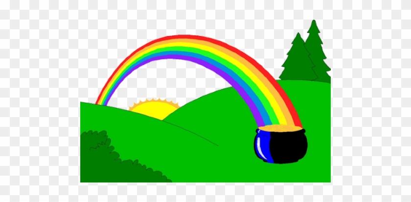 Sol, Nuvem E Arco-iris - Pot Of Gold And Rainbow #468264