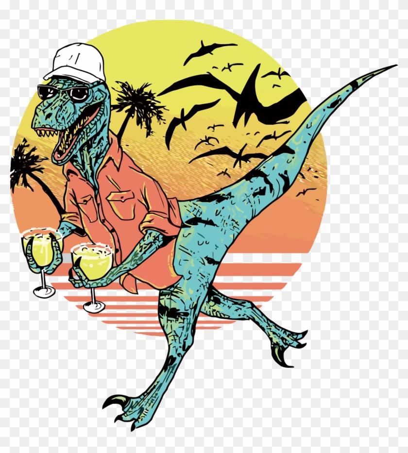Velociraptor Jurassic Park Dinosaur Film Cinema - Jurassic Park Vector Art #468515