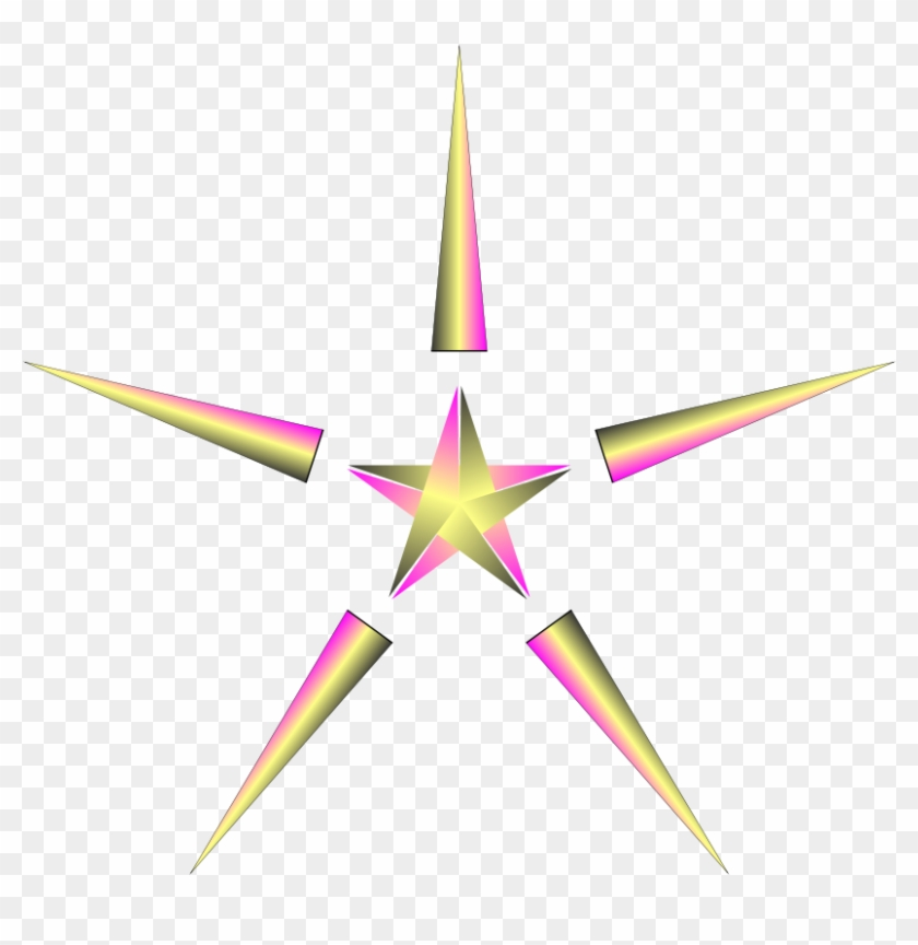 Religious Christmas Star Clip Art Religious Clipart - Star In Christmas Transparent #468664