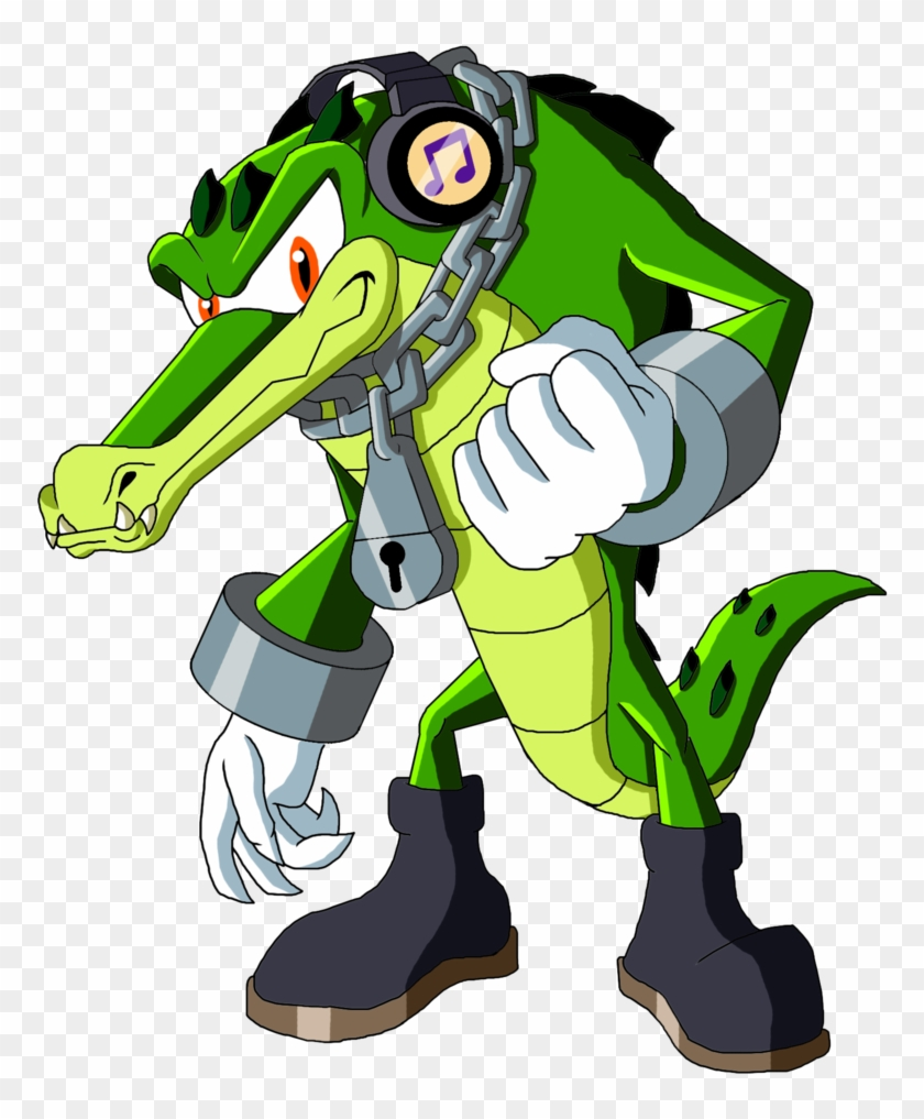 Sonic Reeboot - Vector The Crocodile Deviantart #468969