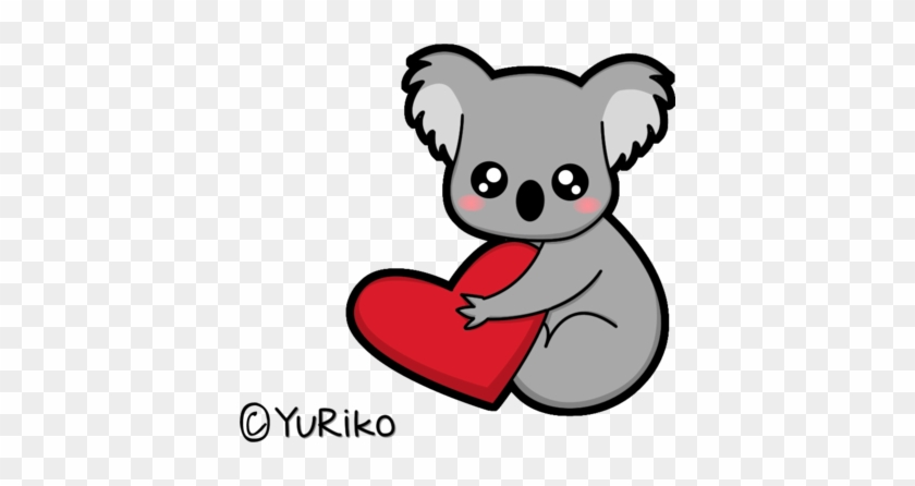 I Love Koalas By O Yuriko O - Koala In Love #469203