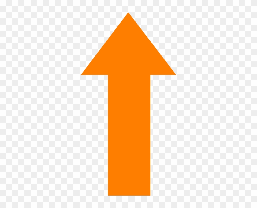 Free Orange Arrow Cliparts, Download Free Clip Art, - Orange Arrow Pointing Up #469264