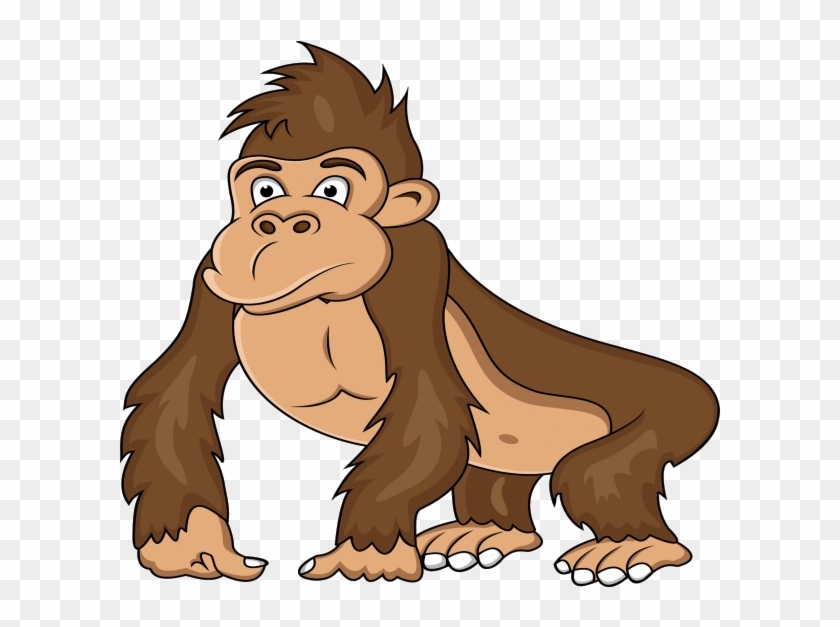 ape western gorilla clip art gorilla cartoon free transparent rh clipartmax com ape face clip art grape ape clipart