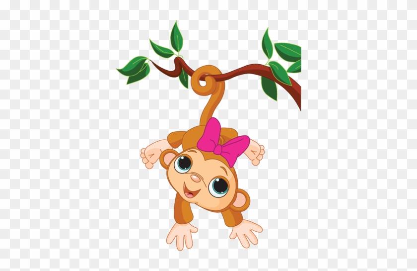 Wall Colour - Baby Monkey Clip Art #469586