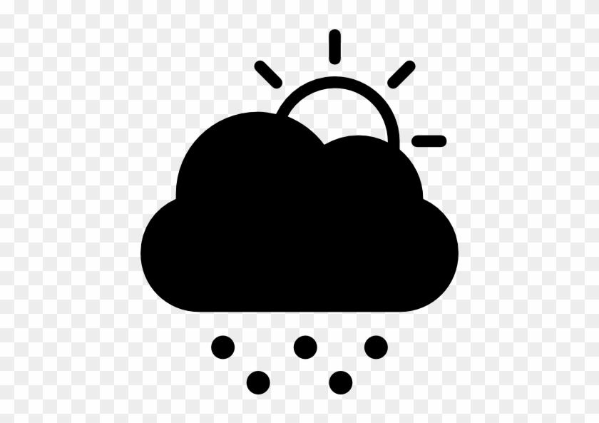 Cold, Stormy, Day, Weather, Symbol, Of, Dark, Cloud, - Fog Symbol #469764