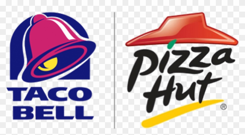Taco Bell & Pizza Hut Logo - Pizza Hut Transparent Logo #470122