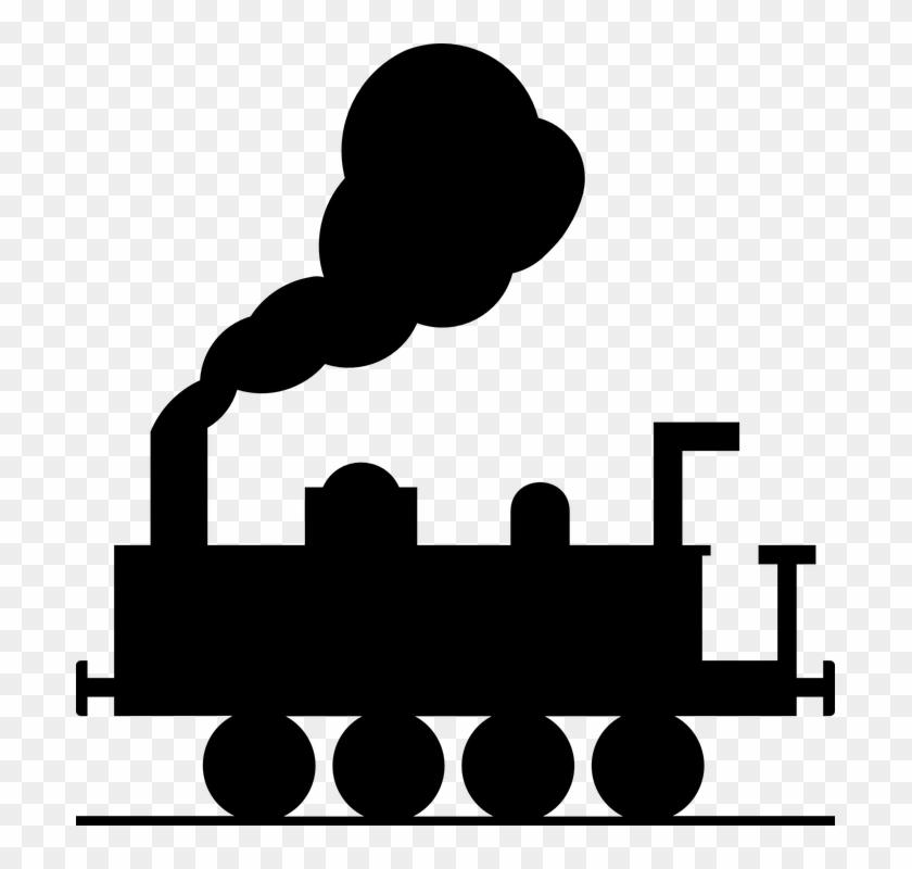Steam Clipart Kereta Api - Train Clip Art - Free Transparent PNG