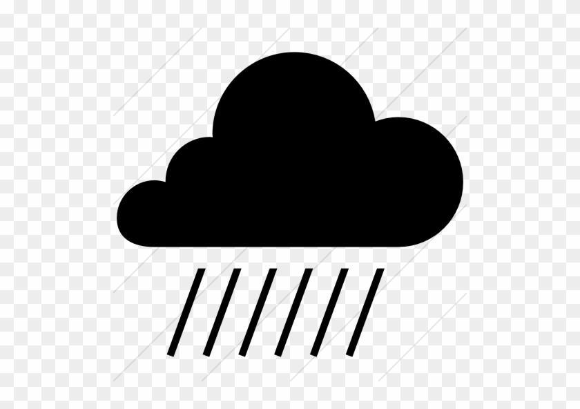 Cloud, Heavy Rain, Rain, Rainstorm, Rainy, Weather - Rain Icon Heavy #470381