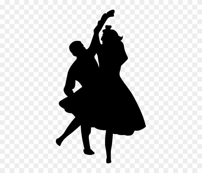 Dancer Dance, Music, People, Silhouette, Couple, Dancer