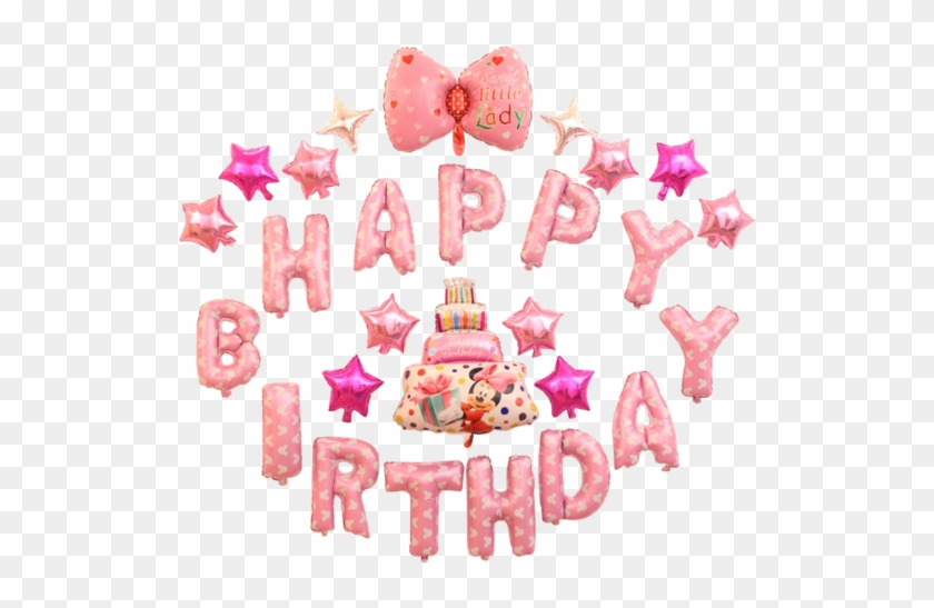 Happy Birthday To You Gift Box Full Colors Text On Happy