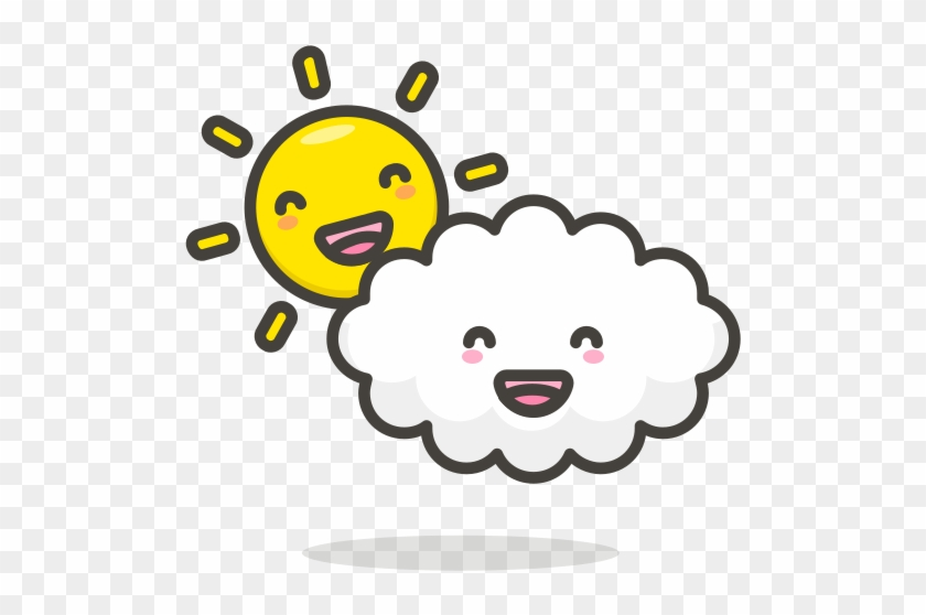 Cloudycloudsunfunny Icon Free Of Another Emoji Icon Icon Png
