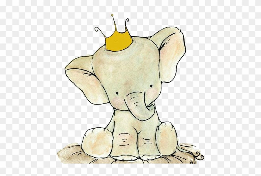 Cute Elephant On Tumblr Drawing - Cute Baby Elephant Drawing #470924