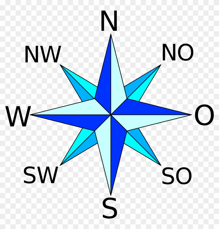 Open - 8 Point Compass Rose #471096