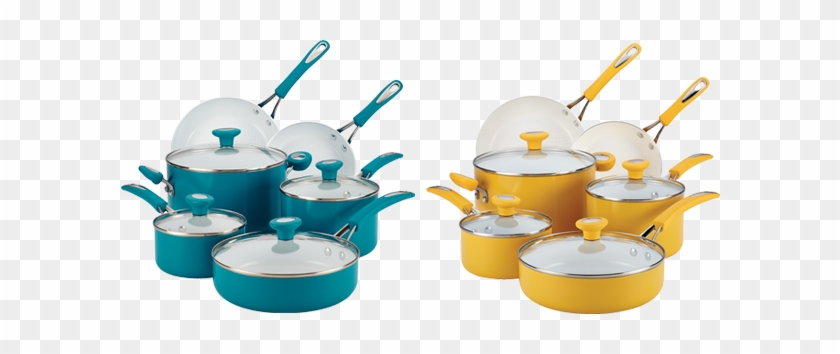 From Skillet To Saucepan, Cookie Sheet To Cake Pan, - Yellow Pots And Pans #471543