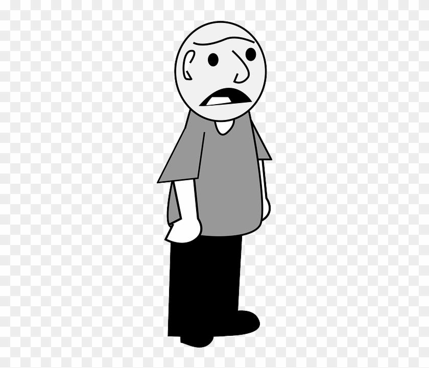 Discontent Complaining, Human, Talk, Unhappy, Discontent - Cartoon #471854