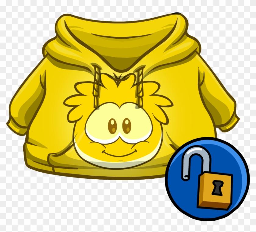 Gold Puffle Hoodie - Club Penguin Puffle Hoodie Code - Free