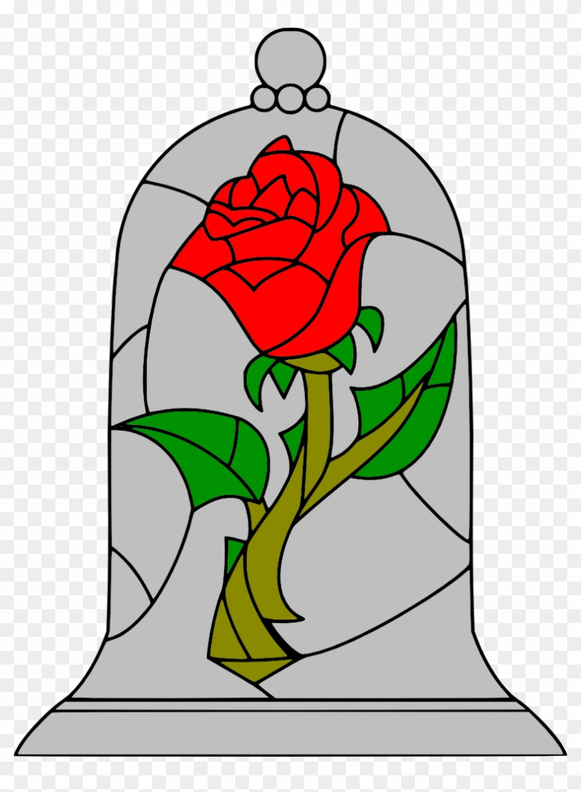 Movies, Personal Use, Beauty And The Beast Rose, - Beauty And The Beast Roses Drawing #472018
