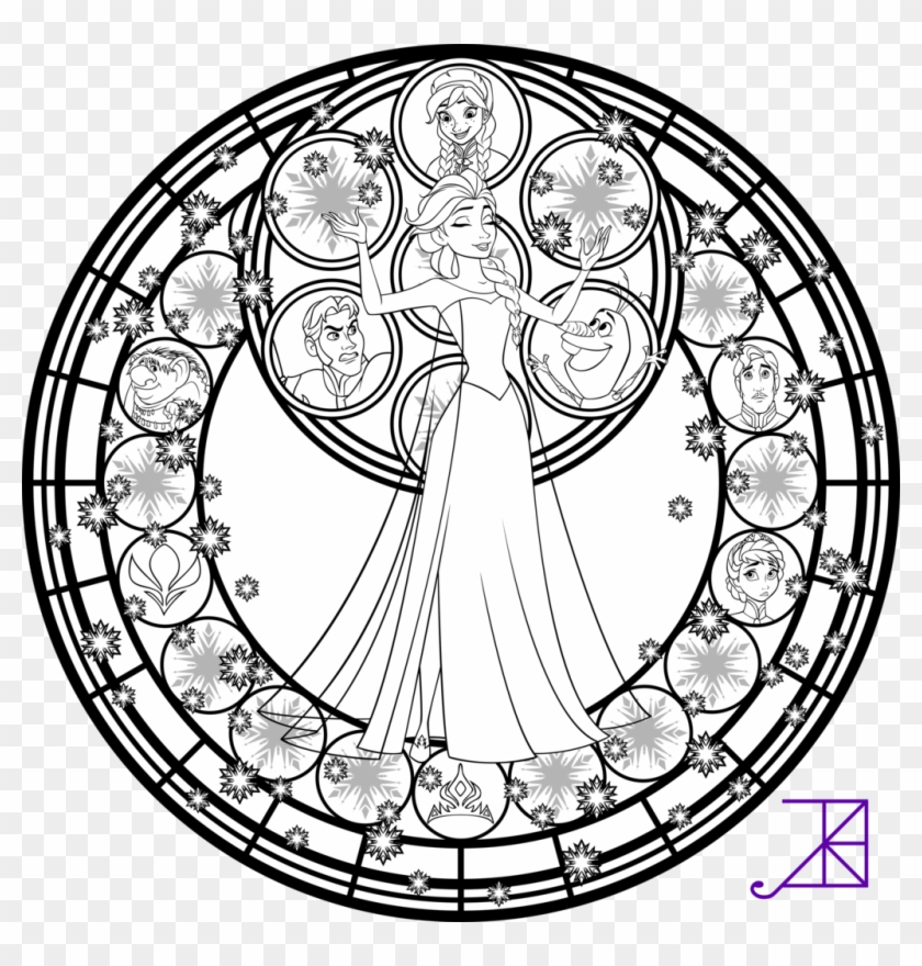 Disney Stained Glass Coloring Pages Mlp Stained Glass Coloring